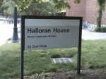 Halloran House sign